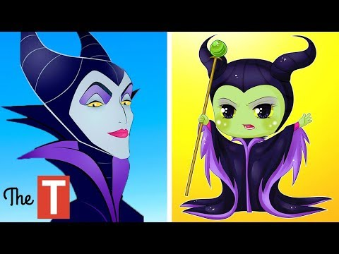 20 Disney Characters Reimagined As KIDS