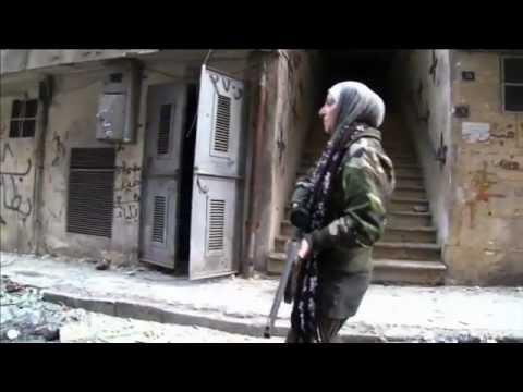 SYRIA FEMALE SNIPER