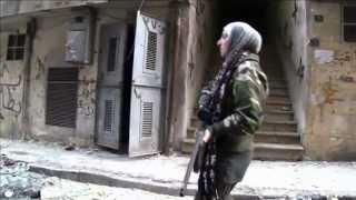Repeat youtube video SYRIA FEMALE SNIPER