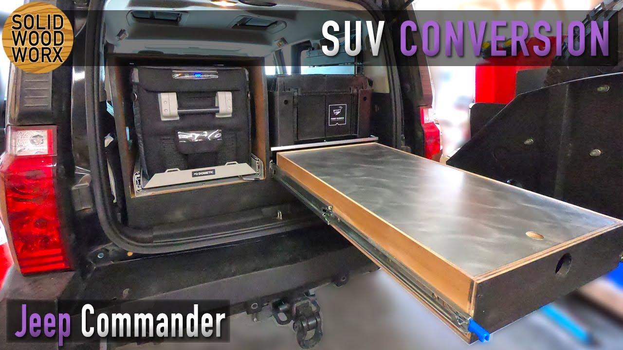 Custom Jeep Commander Storage System Tour