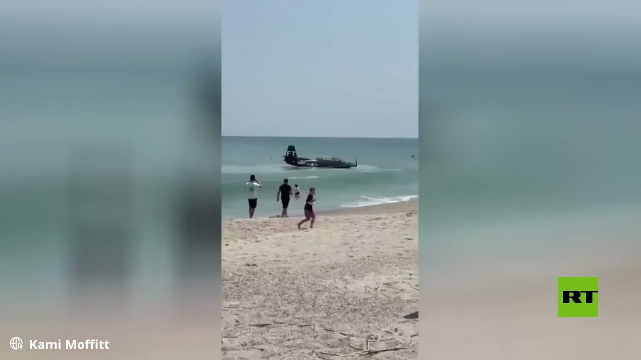 هبوط اضطراري لطائرة على سطح البحر أثناء عرض جوي في فلوريدا  - نشر قبل 2 ساعة