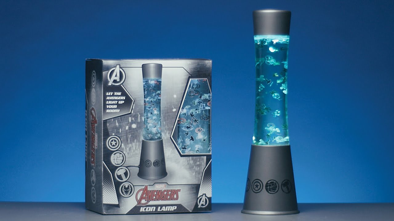 Marvel Avengers Icon Lamp | Paladone