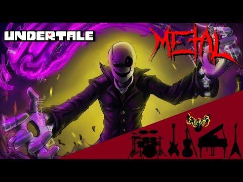 Undertale - Gaster's Theme 【Intense Symphonic Metal Cover】