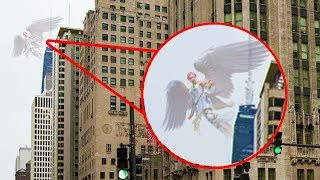 Angel Caught On Camera Flying & Spotted In Real Life!