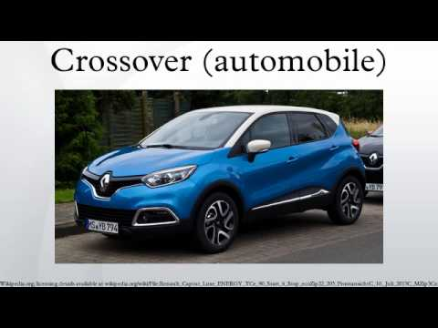 Crossover (automobile)