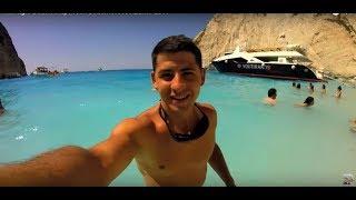 Navagio Beach  Shipwreck Beach Greece Zante 2017