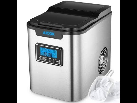 Best portable ice maker: Aicok Portable Ice Maker