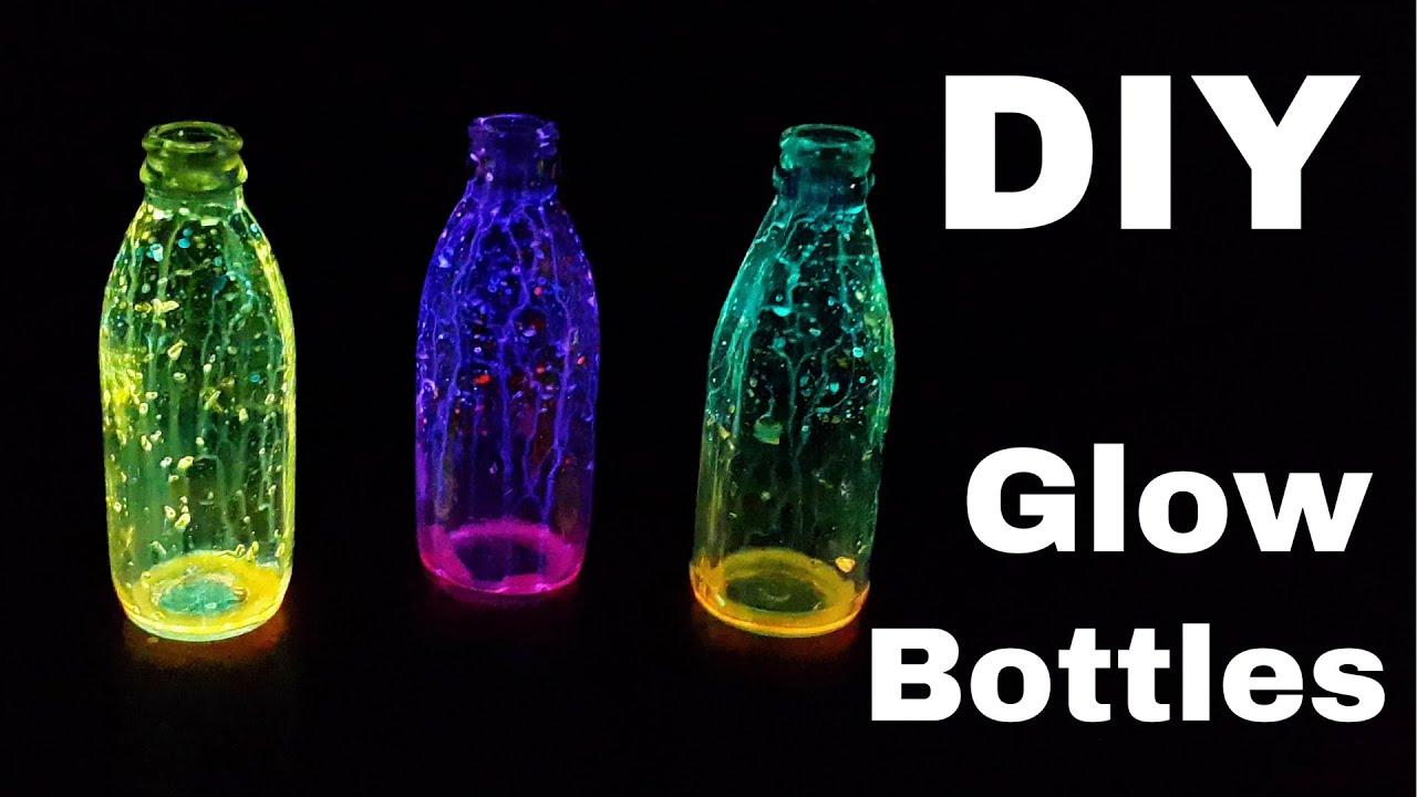 DIY Fairy Glow Bottles | DIY Christmas Holiday Decoration ...