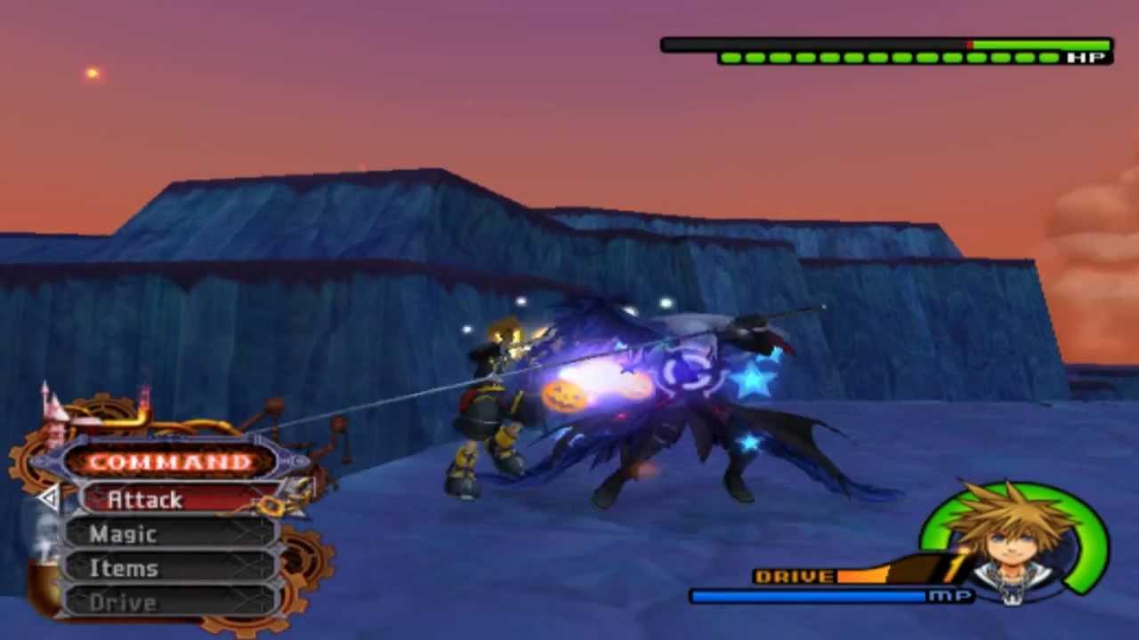 Kingdom Hearts 2 Final Mix Level 1 Sora Vs Sephiroth Critical Mode
