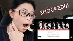 방탄소년단 Louder Than Bombs 가사 Reaction Shocked Surprised