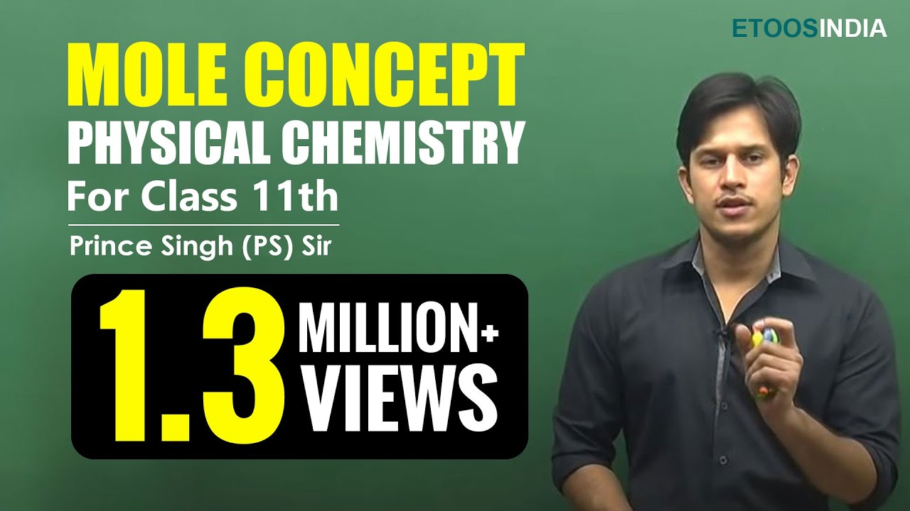 Mole Concept Video Lectures of Chemistry for NEET by Prince (PS) Sir