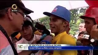 """Campeón de la Vuelta al Táchira 2020: """"Venezuela tiene mucho talento y lo queremos demostrar"""""""