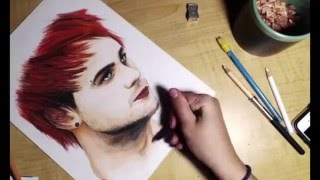 Drawing of Michael Clifford (5sos)