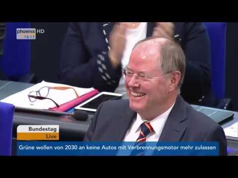 Peer Steinbrück: Letzte Rede im Deutschen Bundestag am 29.09.2016
