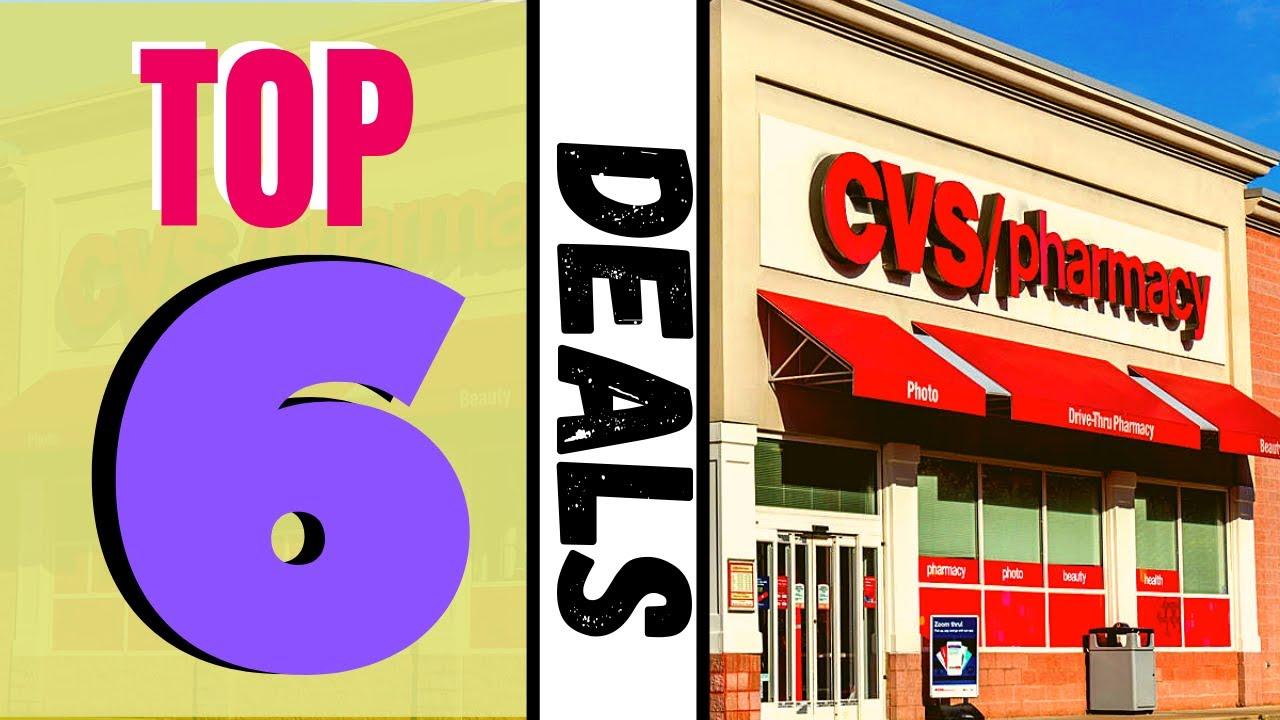 cvs top 6 deals coming up  freebies   ud83d ude4c ud83e udd70  7  21-7  27