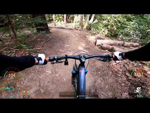 Mountain Biking at Demo with Juan