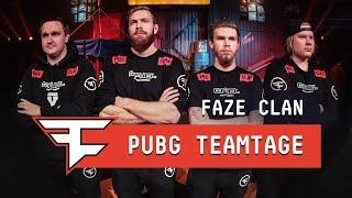 FaZe Clan: PUBG Teamtage