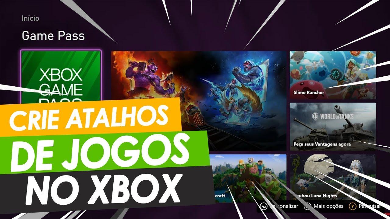 Aprenda a criar Atalhos, Grupos de Jogos e Aplicativos no XBOX