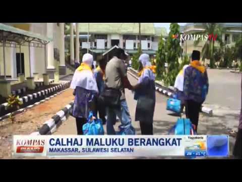 Calon Haji Maluku Utara Berangkat - Kompas Siang 9 September 2014