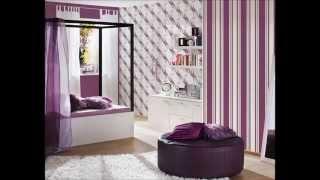 Dormitorios y papel pintado
