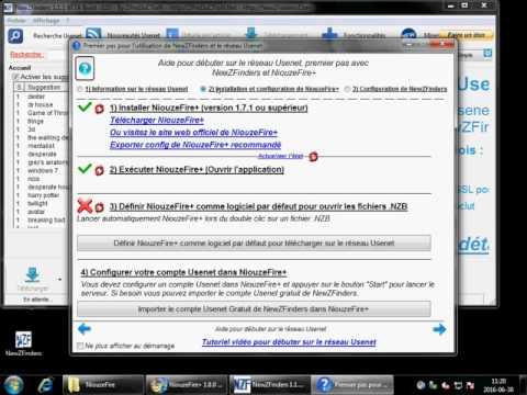 Débuter sur le réseau Usenet avec NewZFinders et obtenir un compte Usenet gratuitement