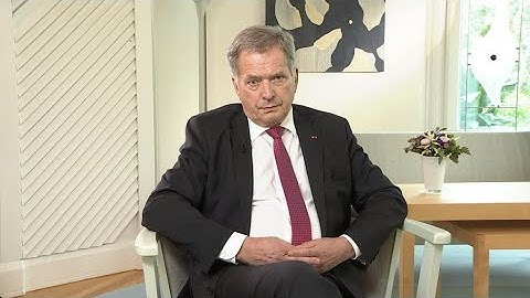 EXCLUSIVE - Interview with Finland's president on Russia, NATO and Trump