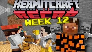 PAUL BLART THE MATRIX COP - Hermitcraft Recap Season 6 - week #12