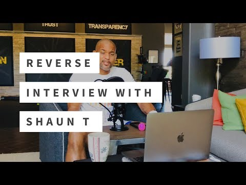 Reverse Interview with Shaun T, by Jessica Nelson