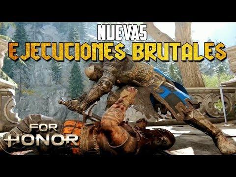 REACCIÓN NUEVAS EJECUCIONES BRUTALES - IN GAME | FOR HONOR ESPAÑOL