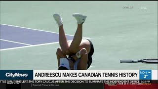 Canadian tennis players inspired by Andreescu win