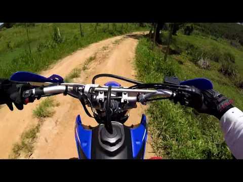 Yamaha TTR125L - Lucas Leite no Estradão de Terra - Tebas MG