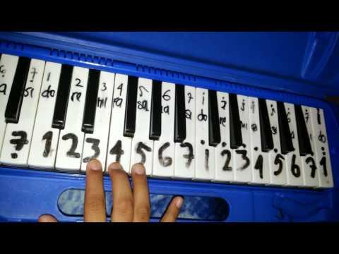 Not pianika lagu mengheningkan cipta