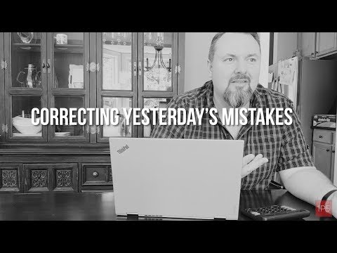 1P5 Minute - 6-15-2018: Correcting Last Episode's Mistakes