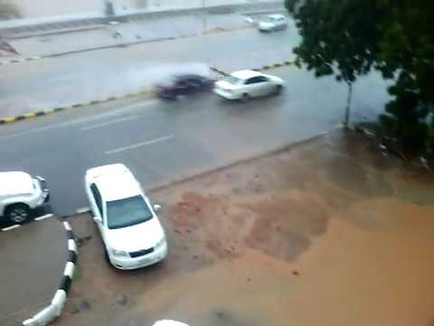 Raining at River Nile Manshia Khartoum Sudan الأمطار والسيول في السودان