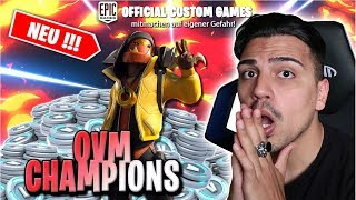 V-BUCKS OVM CHAMPIONS TURNIER 🏆⚡️👊 | CUSTOM GAMES 🌀 | TEAM OVM 🔮 | FORTNITE LIVE DEUTSCH 🔴