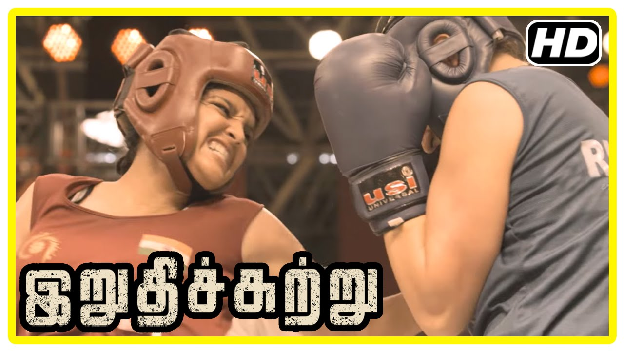 Download Irudhi Suttru Tamil Movie | Climax Scene | Ritika wins the match and gives credit to Madhavan