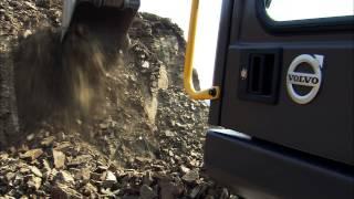 Excavadora de orugas Volvo EC170D: desempeño poderoso