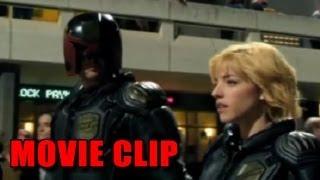 Dredd 'Entering Peech Trees' Movie Clip (2012)