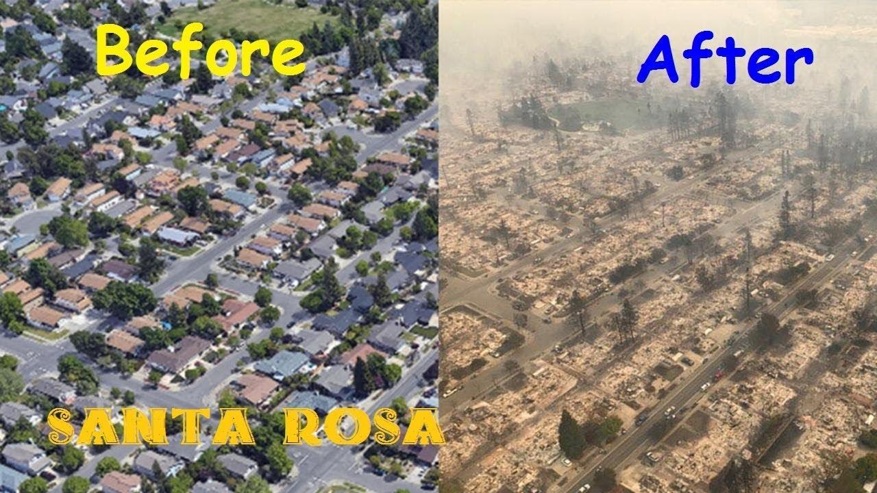 Santa Rosa Fires Napa Fire California Fires Santa