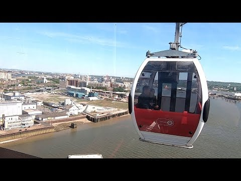 Emirates Air Line Cable Car London - Full Experience