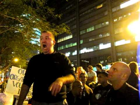 AFL-CIO Protester speaks out at Occupy Wall Street