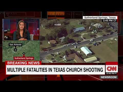 (Update) Multiple fatalities in Texas church shooting (CNN breaking news)