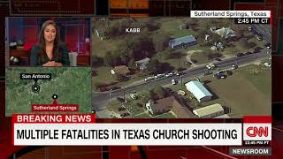 (Update) Multiple fatalities in Texas church shooting (CNN breaking news)