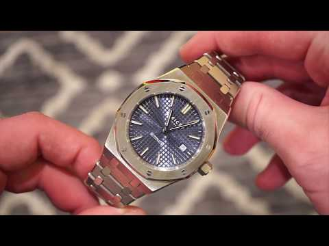 FEICE Automatic Watch Review - AP Royal Oak Homage - Not Bad?