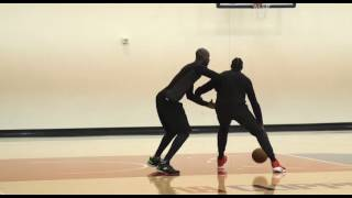 Kevin Garnett TEACHING DeAndre during Clippers Practice | (01/10/2017)