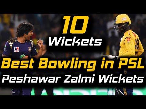 Quetta Gladiators Best Bowling Ever in PSL | Quetta Gladiators Vs Peshawar Zalmi | HBL PSL 2018