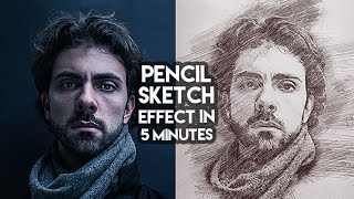 Pencil Sketch Effect in few clicks tutorial