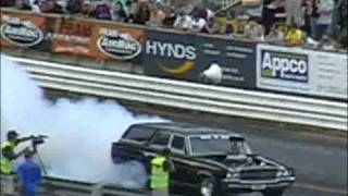 Morgs Meremere full track burnout 2009