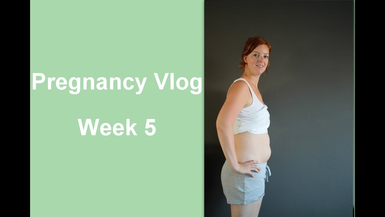 what does your belly look like at 5 weeks pregnant