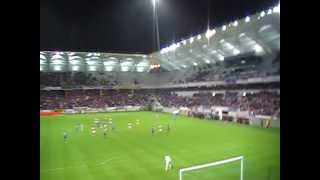 Stade de Reims-Nice, 06/10/2012, but de Courtet (2)
